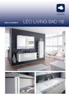 leonardo 116 leonardo badm bel marken badm bel von der nr 1 pelipal. Black Bedroom Furniture Sets. Home Design Ideas