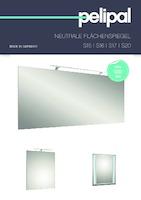 s16 spiegel und spiegelschr nke badm bel marken badm bel von der nr 1 pelipal. Black Bedroom Furniture Sets. Home Design Ideas